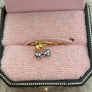 Juicy Couture cherry ring